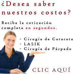 Costo Cirugia de Catarata, Lasik y Cirugia de Parpados en Guatemala